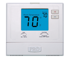 PRO-1, 705 SERIES, 5+1+1 PROGRAMMABLE THERMOSTAT,